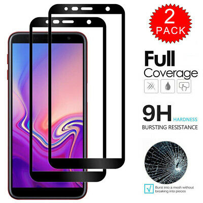 For Samsung Galaxy J6+ / J4+ Plus FULL COVER 9D Tempered Glass Screen Protector