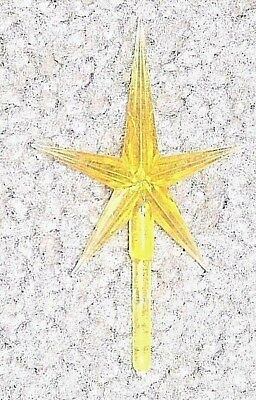 Star Medium Gold   For Ceramic Christmas Trees