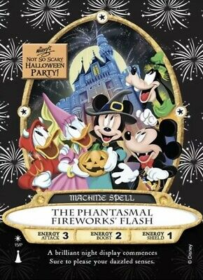 2019 Mickey's Not So Scary Halloween Party Sorcerers Of The Magic Kingdom Card