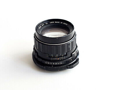Pentax 6x7 SMC TAKUMAR 105mm F2.4 Lens for 6x7 67 II tested