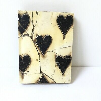 Sid Dickens Memory Block.  Black Heart. Preloved.
