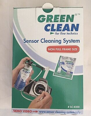 Green Clean Sensor Cleaning Set