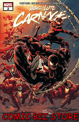 Absolute Carnage #2 (Of 5) (2019) 1St Printing Ryan Stegman Main Cover ($4.99)