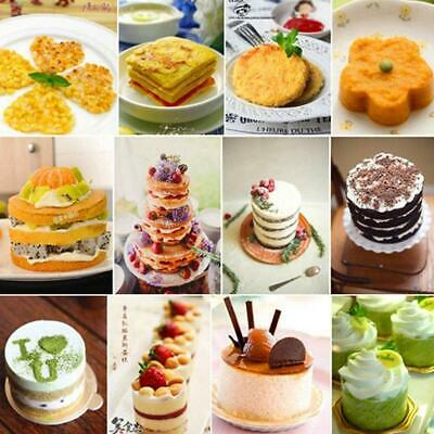1* Making Baking Mould Cookies Cutter Mousse Ring Cake Mold Cake Decorating best