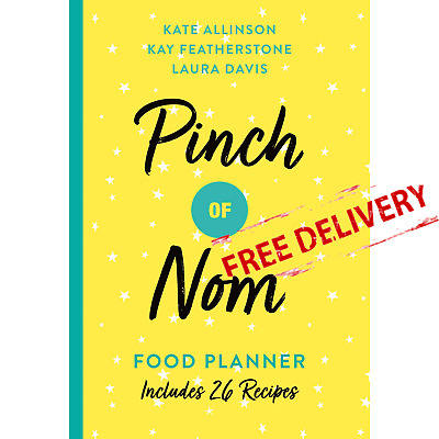 Pinch of Nom Food Planner Weekly Meals Cookbook Weight Loss Diet Recipes Book