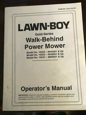 VINTAGE LAWN BOY WALK Behind Push Lawn Mower 21 In 6 5 HP 2