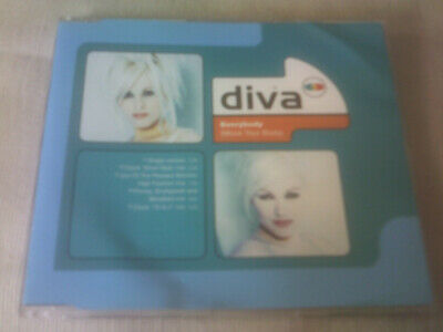 Diva - Everybody (Move Your Body) - 5 Mix Dance Cd Single