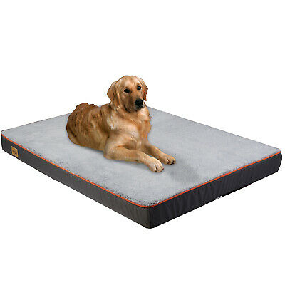 Deluxe Soft Washable Cover Dog Pet Bed Warm Mat Basket Cushion with Fleece Face