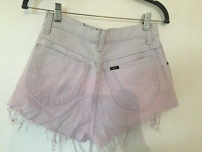 Ragged Priest Hipster Jeans Shorts Hot Pants 30 M Fringe Blogger Punk swagger