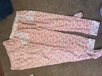 2 Pairs Next Floral Trousers Harem Ditsy Age 11