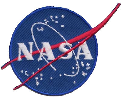 NASA National Aeronautics and Space Administration Emblem Embroidered Patch