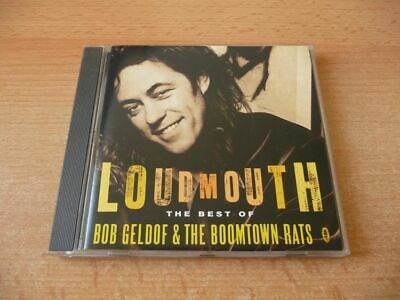 CD Bob Geldof & The Boomtown Rats - Loudmouth - The Best of - 17 Songs