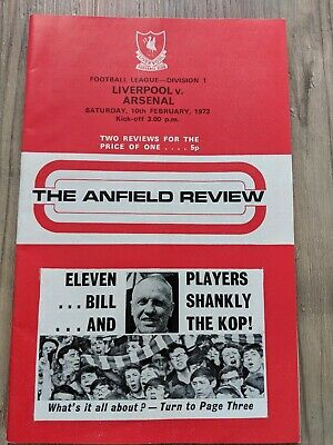 Collectors Item - Liverpool Football Club Official Programme - Champion Year 197