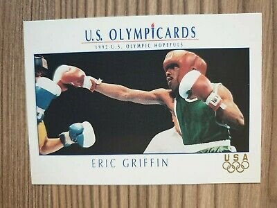 US Olymp Cards Eric Griffin Boxen OS 1992 Nr. 25 Trading Card