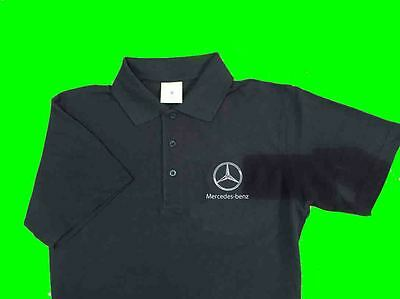Mercedes Premium Embroided Polo Shirt - COURIER INCLDED.