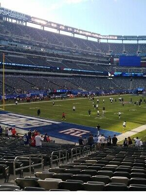 2 NY Giants vs Arizona Cardinals Tickets 10/20 Lower Level  LL