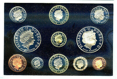 2008 Royal Mint Proof Coin Set.