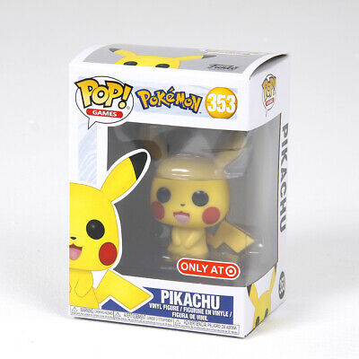 FUNKO POP 353# Pokemon Pikachu Action Figures Collection Model Toy Gift