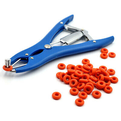 SHEEP CASTRATION PLIERS Ring Castration Elastrator 100PCS