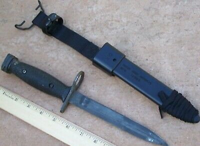 Bayonet Knife Imperial USA + NEW  M10Scabbard Military USMC Army USN USGI USAF