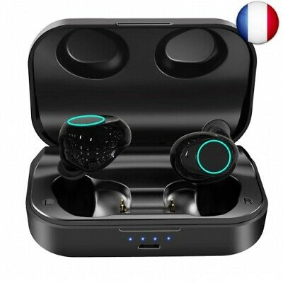 ZoeeTree i18 Ecouteur Bluetooth 5.0, casque bluetooth 3000mAh Etui de Charge