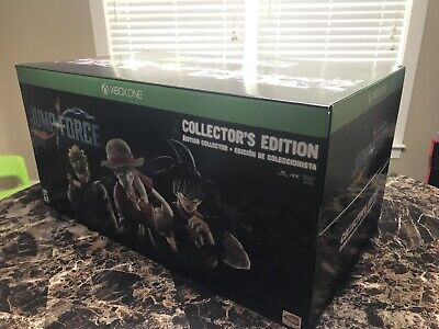 NEW Mint Sealed Jump Force Collector's Edition Microsoft Xbox One, 2019 100% CIB