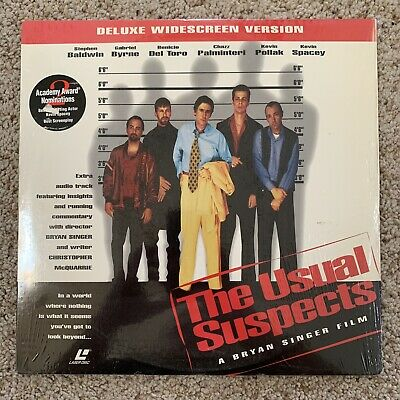 The Usual Suspects Widescreen Laserdisc
