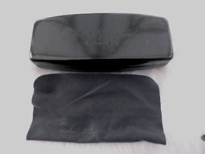 Used - Red or Dead black glasses / sunglasses case & cloth - proceeds to charity
