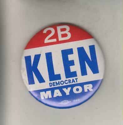 Vintage Political Mirror - Klen - Democrat - Mayor - Hammond Indiana