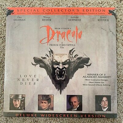 Bram Stoker's DRACULA Special Collector's Edition Laserdisc -VERY RARE BRAND NEW