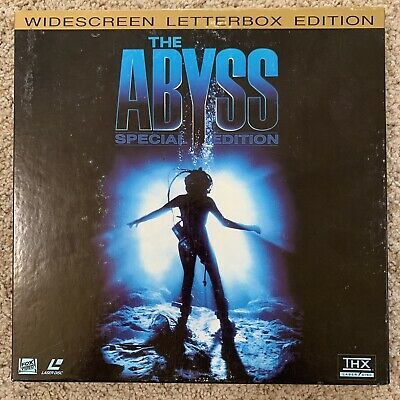 The Abyss Letterbox Box Set Laserdisc
