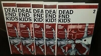 Dead End Kids #2 Frank Gogol Source Point Press Hot Sold Out Low Print Lot Of 5