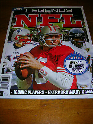 Legends of the NFL - National Football League magazine 2nd edition