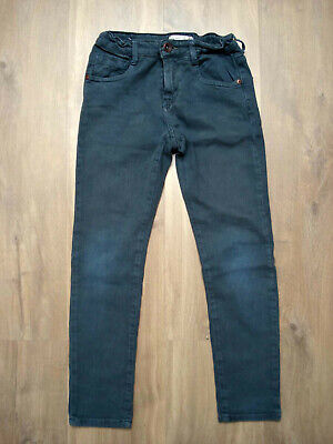 ZARA KIDS boys' teal jeans in excellent condition - Size 8 years