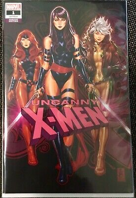 Uncanny X-Men #1 Psyblade Mark Brooks variant 2018 Marvel Rogue Phoenix