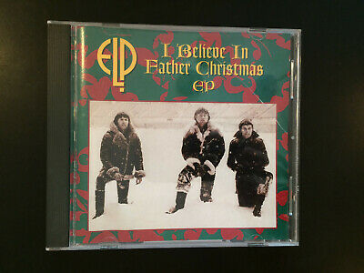 ELP I Believe In Father Christmas EP CD 1995 Emerson Lake Palmer