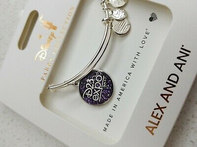 D23 Disney Expo 2019 Dream Store Alex and Ani Bracelet Charm Disneyland new LE