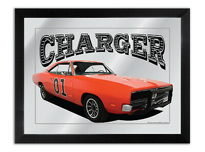 Bar Mirror Suit 1969 Orange Rt Dodge Charger Dukes Of Hazzard Fan