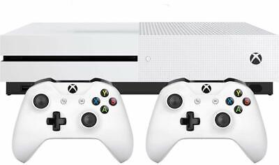 Xbox One S 1TB Bundle with 2 Controllers, 3 Month Game Pass & 14-day Xbox Live