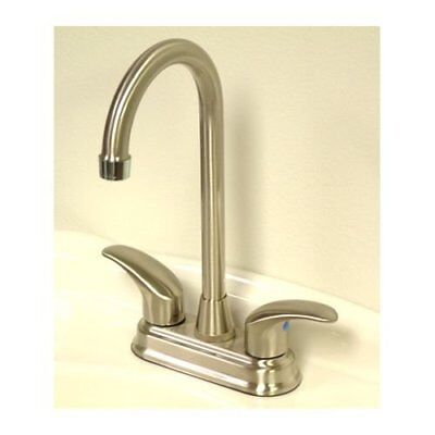 Kingston Brass KB6497LL Two Handle 4 In. Centerset Bar Faucet