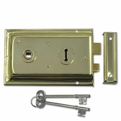 Asec 1 Lever Double Handed Flanged Rim Latch Easy To Install Door Lock 150mm