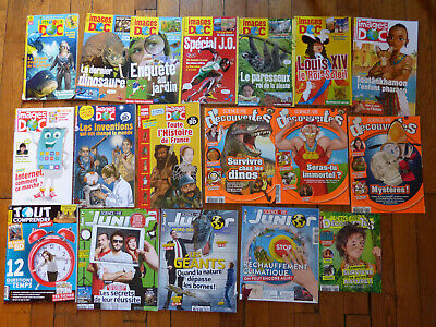 Lot 18 Revues Magazines Images Doc Sciences Decouvertes Bayard Jeunesse 2019