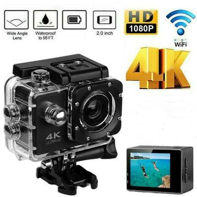 4K Full HD 1080P Video Recorder Sports Camera WiFi Cam DV Action Camcorder