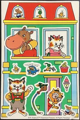 Vintage Stickers - Richard Scarry - Adorable - Mint Condition!!