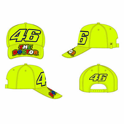 VR46 46 The Doctor Fashionable / Latest Fashion / Casual Wear Cap Fluo Yellow