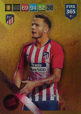 Panini Adrenalyn Xl Fifa 365 2019 Update Limited Edition Saul Limited