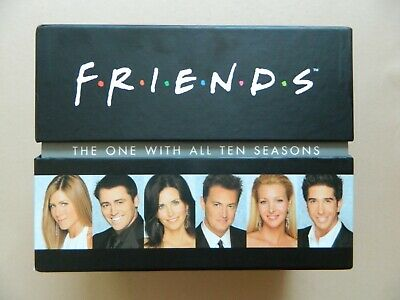 Friends Complete Collection DVD Box Set - Series 1 2 3 4 5 6 7 8 9 10 Seasons