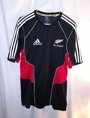 NEW ZEALAND ALL Blacks Adidas Rugby Jersey Shirt (Adult