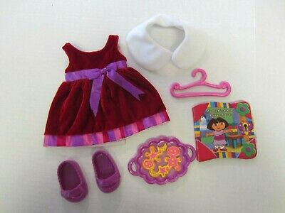 DORA DRESS UP ADVENTURE DOLLS CHRISTMAS BIRTHDAY POOL BEDTIME OUTFITS CLOTHES