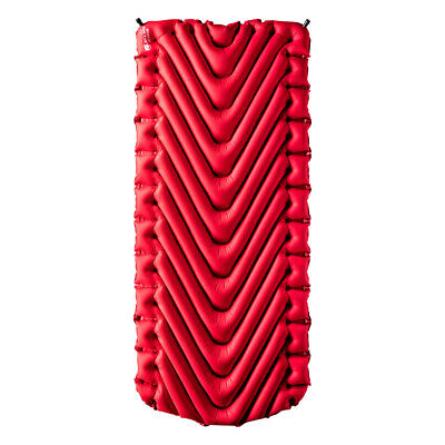Klymit Insulated Static V Luxe Sleeping Pad for Cold Weather Camping